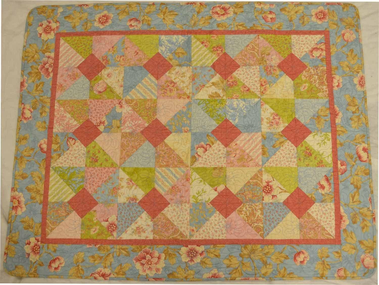 Floral Baby Quilt (JT)