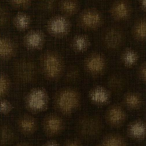 Robert Kaufman Quilter's Linen Dots SRK-13631-167 Chocolate
