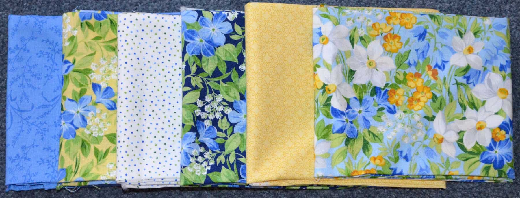May fat quarter bundle
