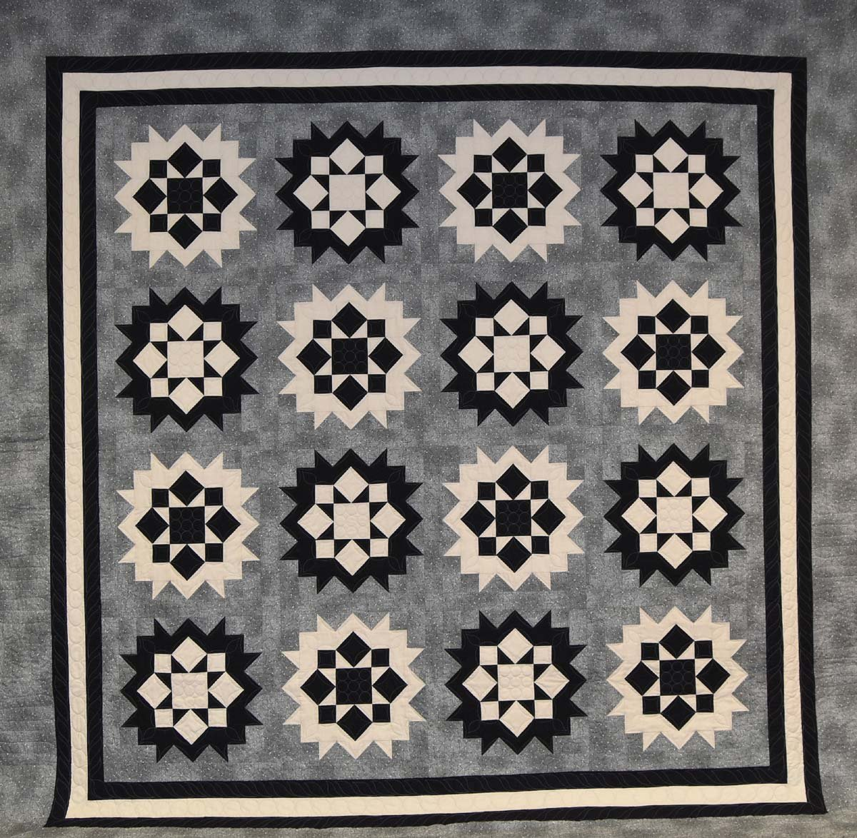 Mystery Quilt Fall 2015 Winter Stars Pattern