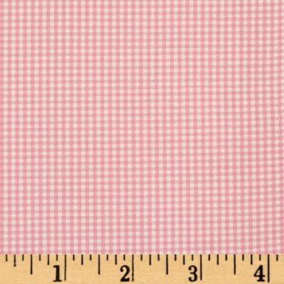Robert Kaufman Carolina Gingham 1/16 P7955-10 Candy Pink