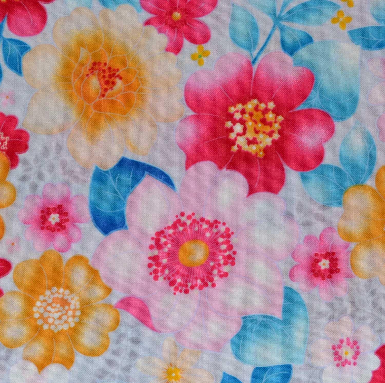 Paintbrush Studio Sweetness 120-12461 Floral Pink/Blue
