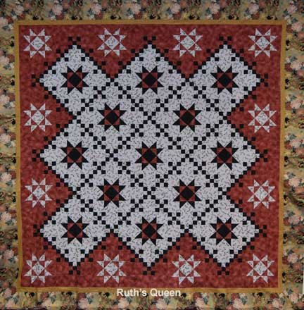 Mystery Quilt Fall 2016 Star Chain Pattern