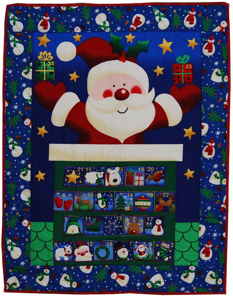 Santa Advent Calendar - W