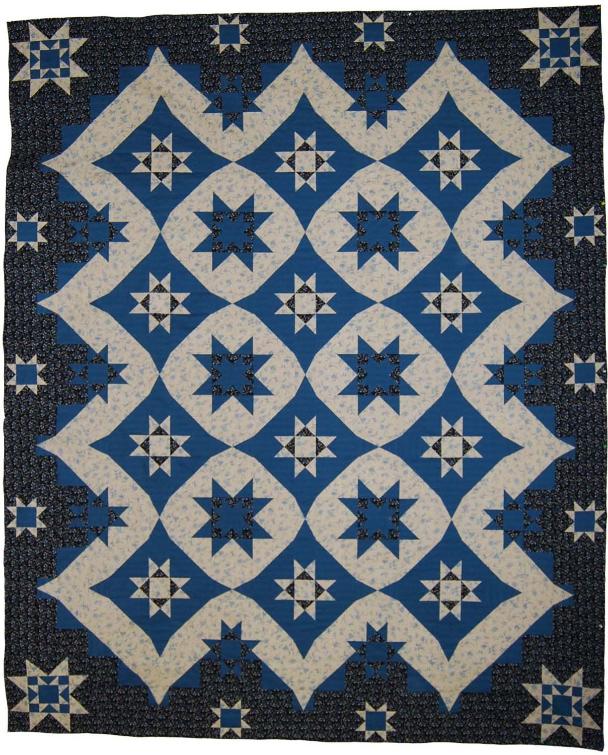 V-Block Quilt (Mystery Quilt Spring 2012) Pattern - W