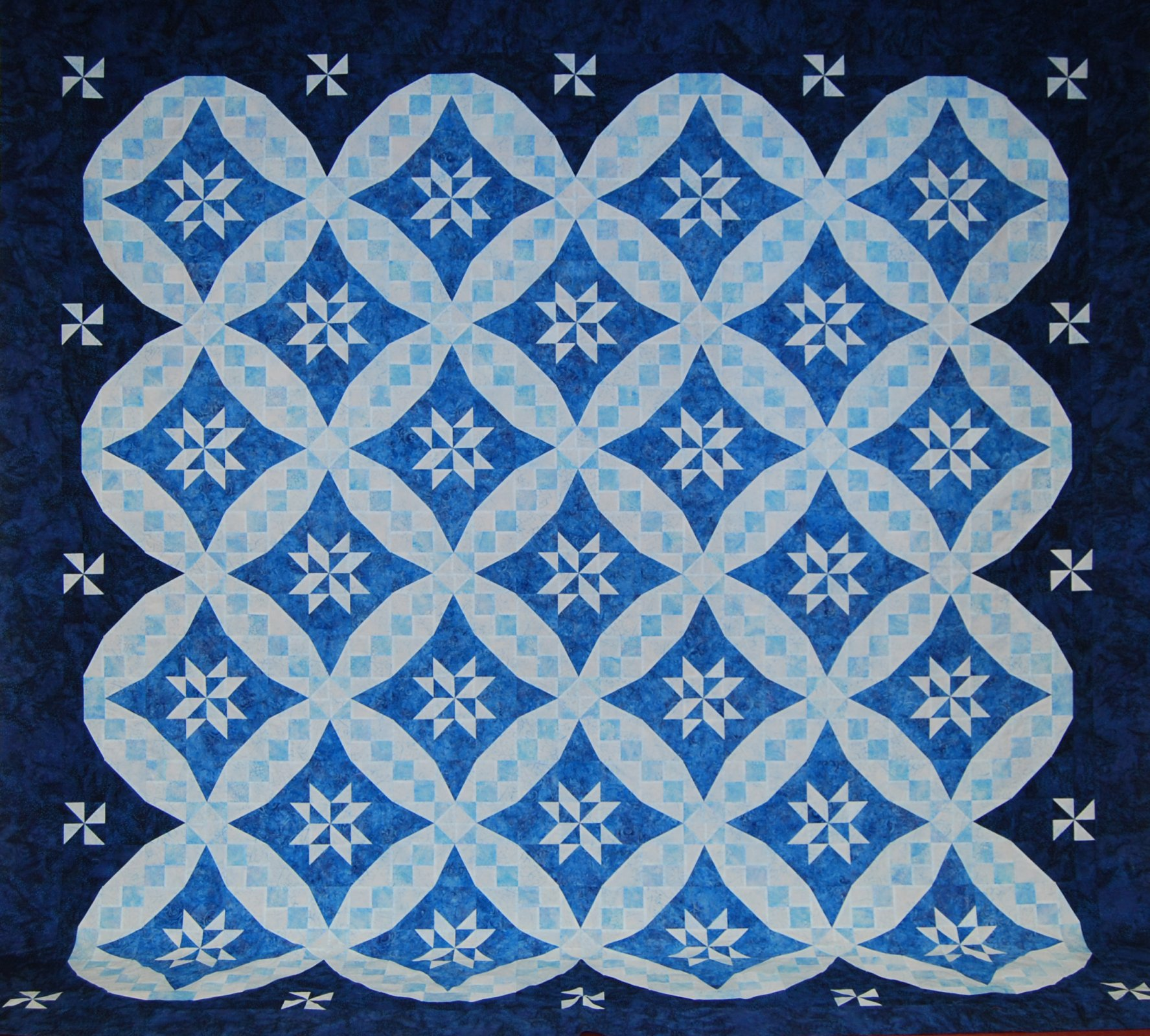 Mystery Quilt Spring 2015 Spring Valleys Pattern