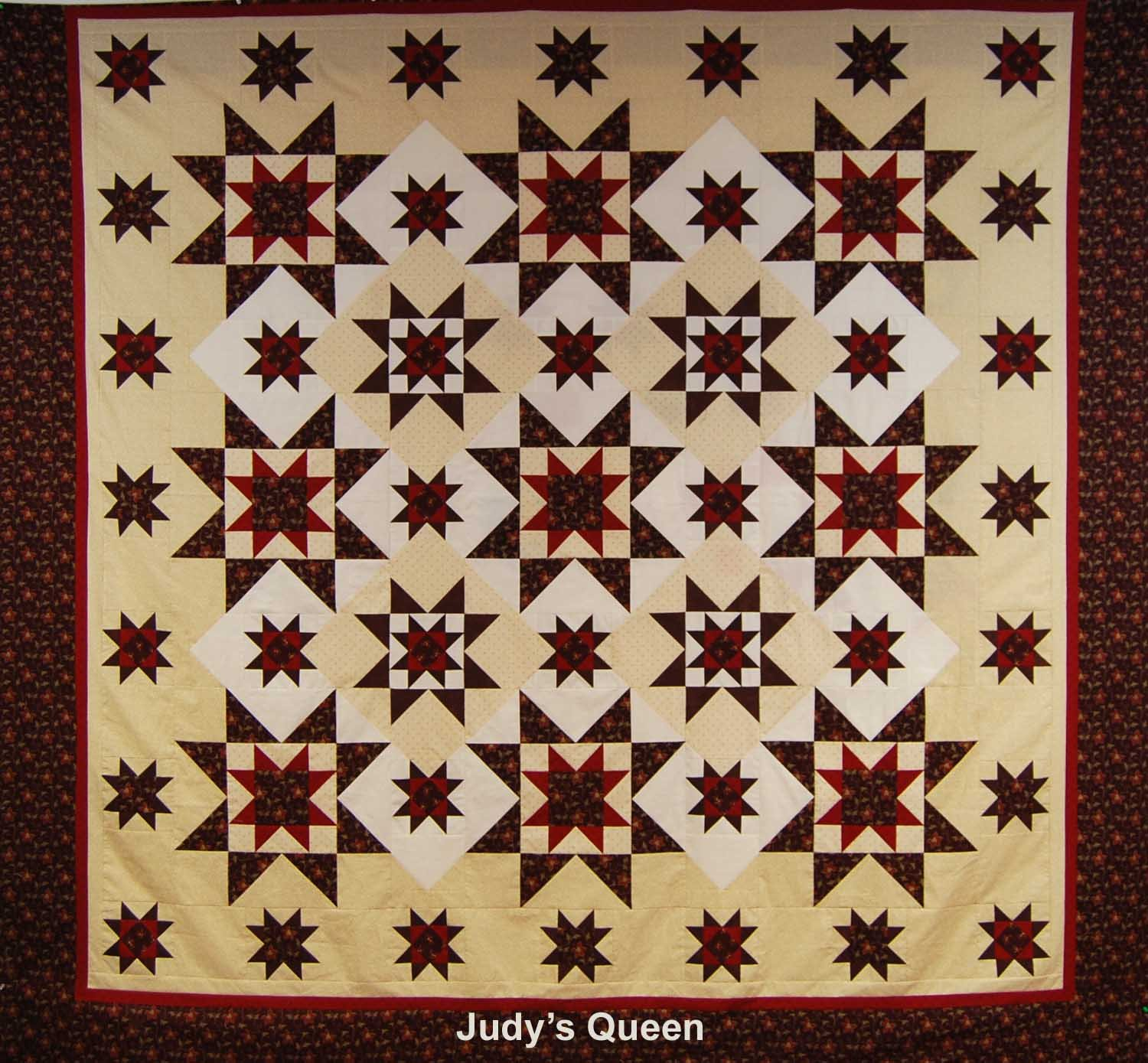 Mystery Quilt Spring 2016 Winter Constellation Pattern