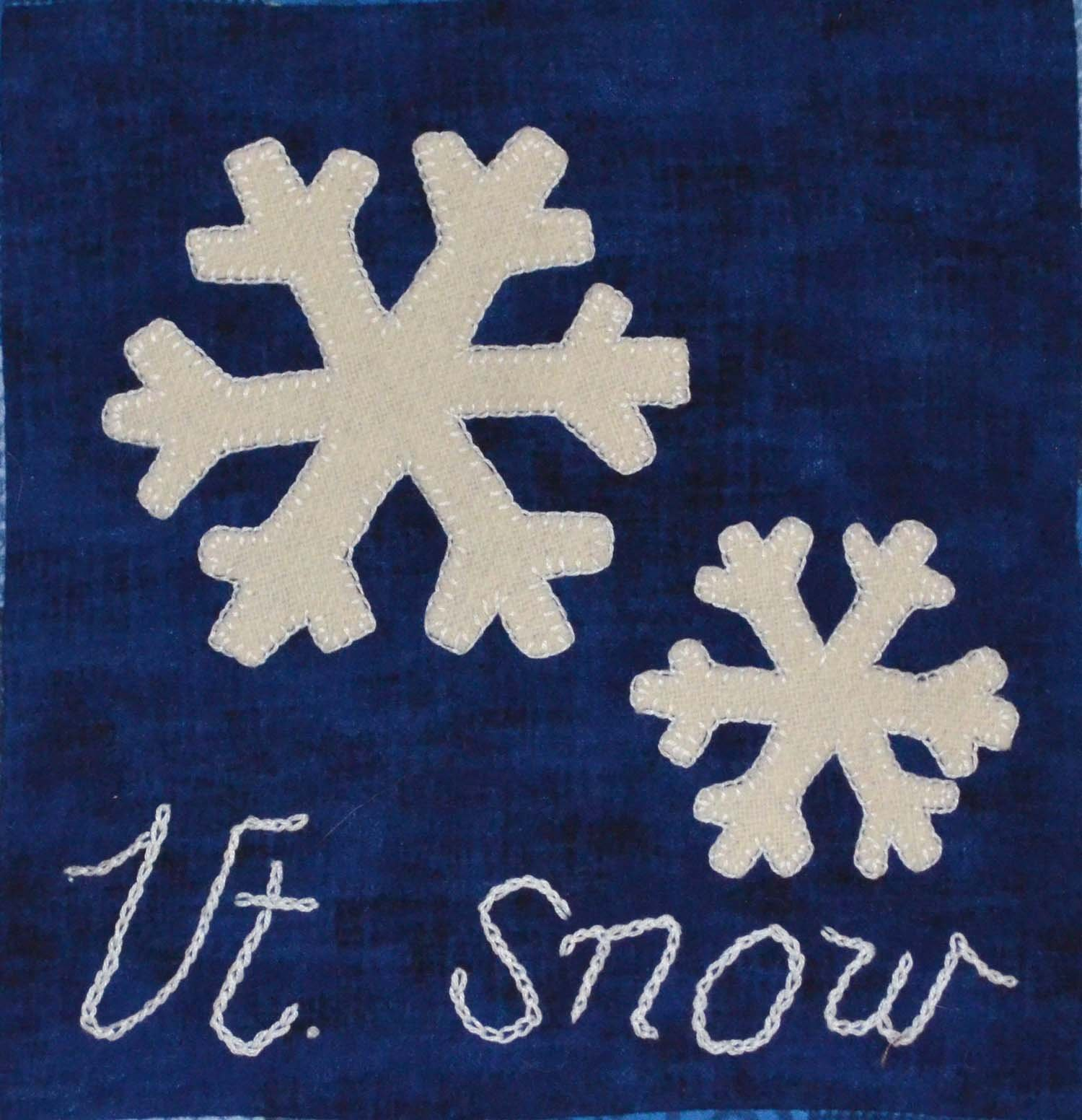 Vermont Snow Wooly Block Kit
