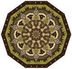 bronze mosaic quilt