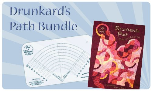 Drunkard's Path & Midi Cut A Round SAVE $17!