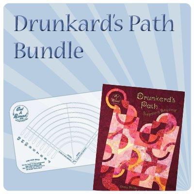Drunkard's Path & Midi Cut A Round SAVE $17!