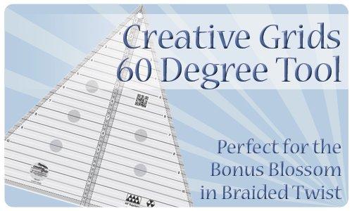 Creative Grids 60 degree Triangle