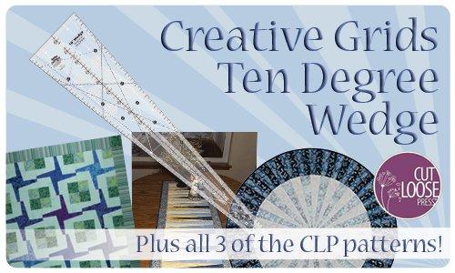 Creative Grids Ten Degree Wedge - CGRCP1 - PLUS 3 CLP