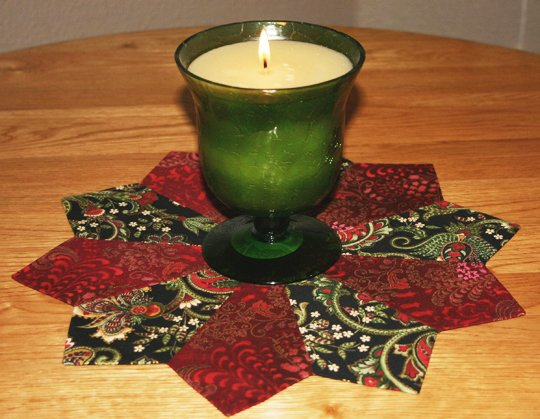 An Easy Candle Mat