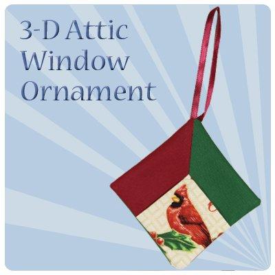 Attic Window: Ornament