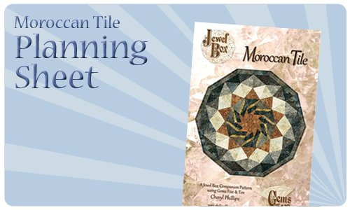 Moroccan Tile Planning Sheet