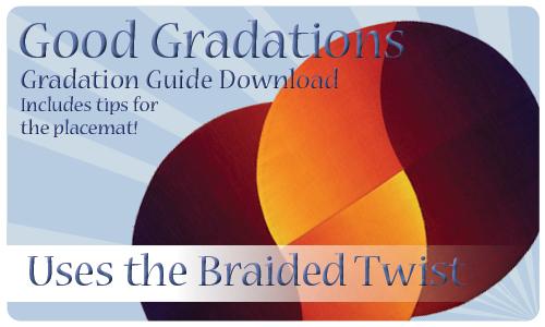 DIGITAL DOWNLOAD: Gradation Placemat