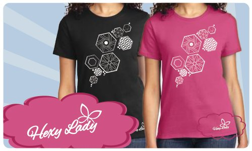 Hexy Lady T-shirt _ NEW COLORS AVAILABLE