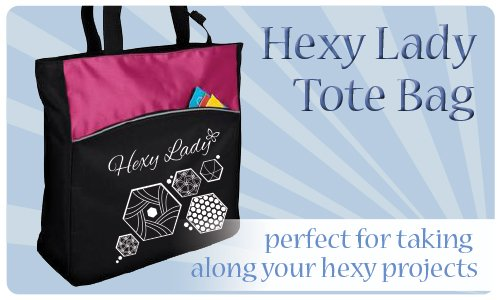 Hexy Lady Tote Bag