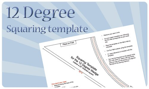12 Degree Squaring Template