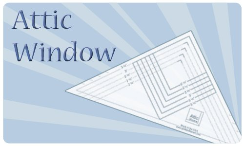 Attic Window SAVE $1.50!
