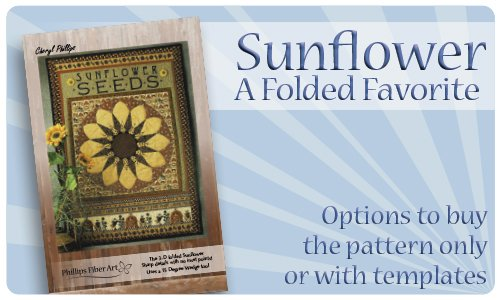 Sunflower - A Folded Favorite