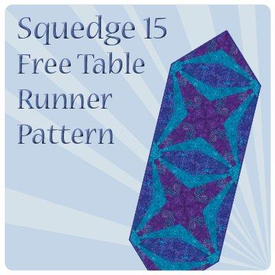 June Squedge 15 Striped Stars