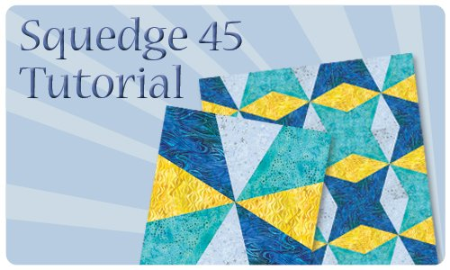 Squedge 45 Tutorial