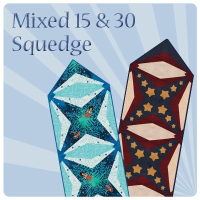 Mixed Squedge 15 and 30 Runner