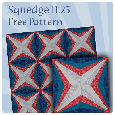 Squedge 11.25 Free Tutorial & Pattern