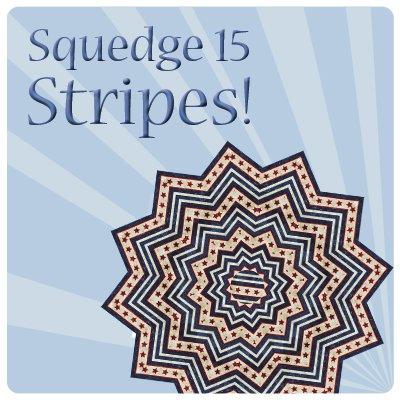 Squedge 15 Striped Topper