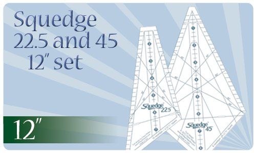 Squedge 12 set 22.5 and 45 CYBER SALE includes Sampler pattern