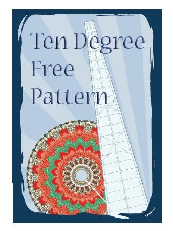 A Ten Degree Free Pattern--the one that used to be on the backing card
