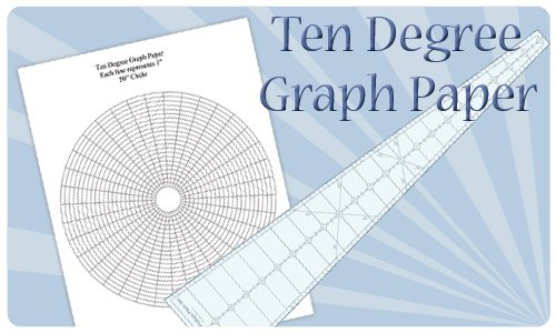 Ten Degree Graph paper