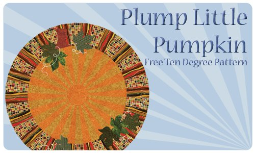Plump Little Pumpkin Pattern