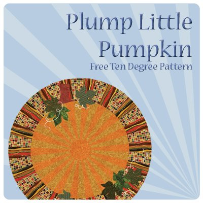 Plump Little Pumpkin Pattern