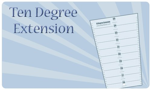 Ten Degree Wedge Extension