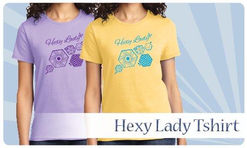 Hexy Lady Tee : S-3XL