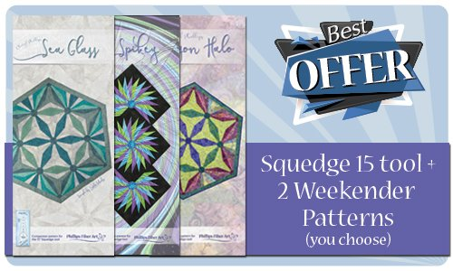 Squedge 15 Weekender Bundle  SAVE $10!!
