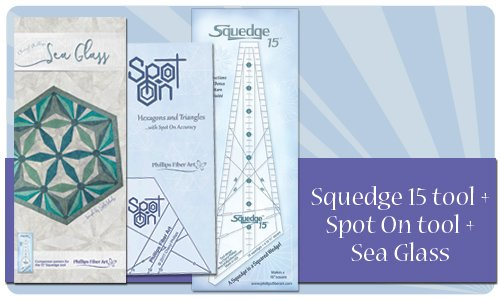 Squedge 15 - Spot On - Sea Glass Bundle