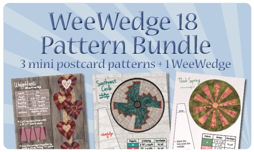 WeeWedge 18 Pattern Bundle