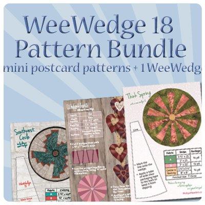 WeeWedge 18 Pattern Bundle