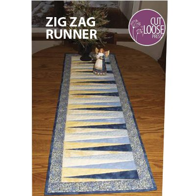 Zig Zag Runner Cut Loose Press - Uses CGRCP1