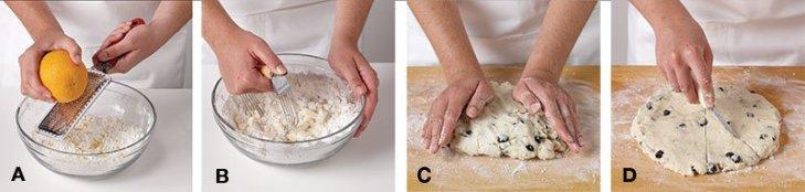 Gluten-Free Scones Steps