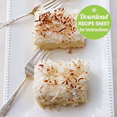GF Coconut Cake