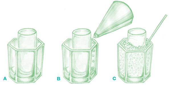 Vase steps 1-3