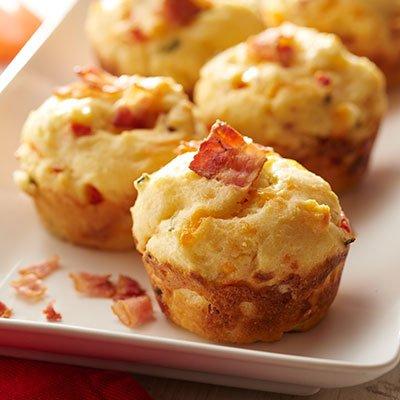 Gluten-Free Bacon Corn Muffins