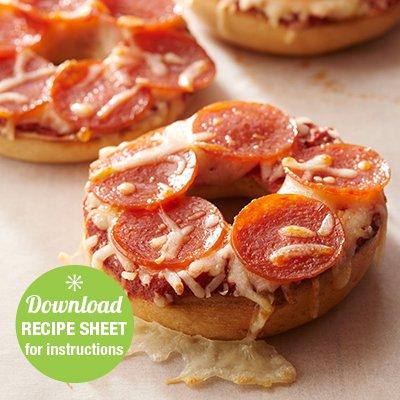 Pepperoni Pizza Sandwiches