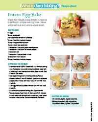 Potato Egg Bake
