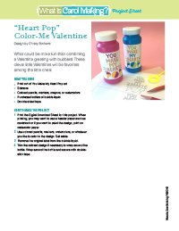 ColorMe Heart Pop Valentine